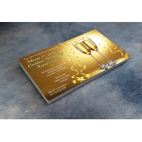 50th Wedding Invitations & Envelopes - Design No 7