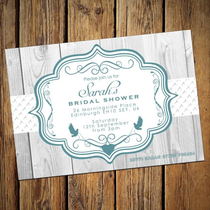 bridal wedding shower invitations envelopes design