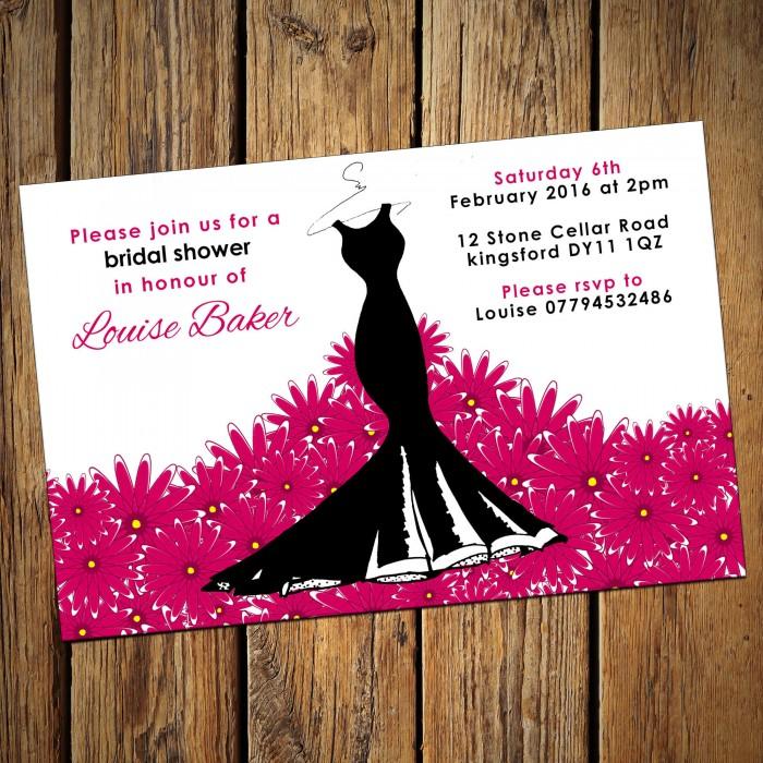 bridal wedding shower invitations